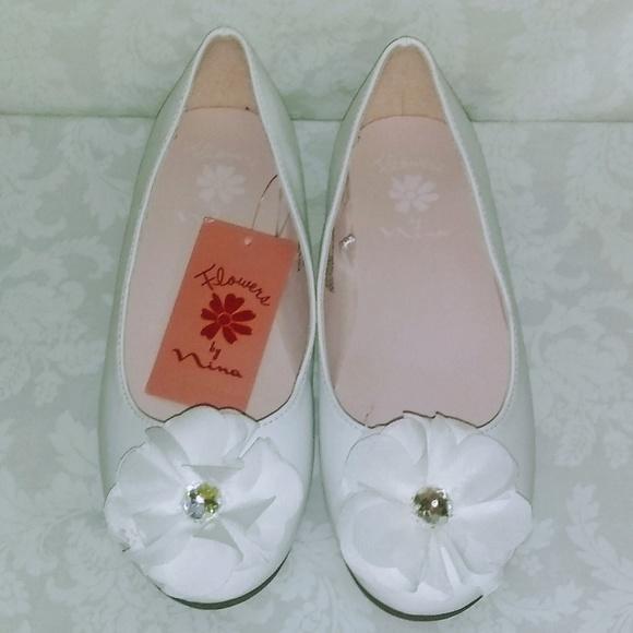 Nina Other - Girls' Flowers by Nina Muriel Dressy Ballet Flats